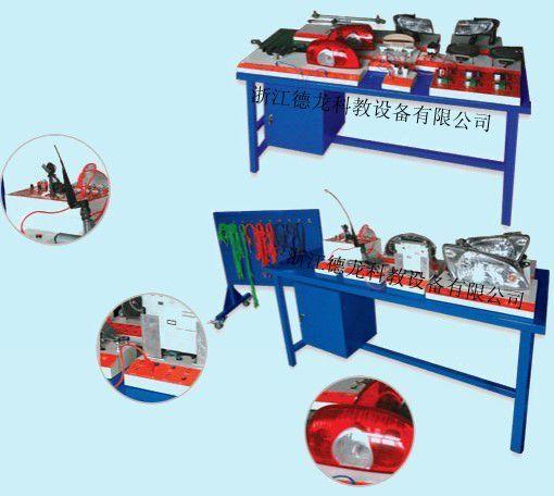 产品名称:组装式车身电器教学系统(帕斯特B5) 产品型号:DL-DF120--B5 产品规格:16001100750 汽车型号:帕萨特B5 工作电压:VC/220V,DC/12V 工作频率:50/60HZ 产品简介 1. 全部采用帕斯特B5的原厂全新配件,包括灯光系统、音响系统、仪表系统、雨刷系统、电动门窗、中控门锁、电动后视镜、中央接线板等,配件数量和原车相同,不使用任何替代配件; 2.